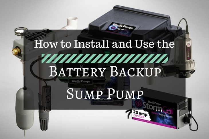 Install and Use the Battery Backup Sump Pump