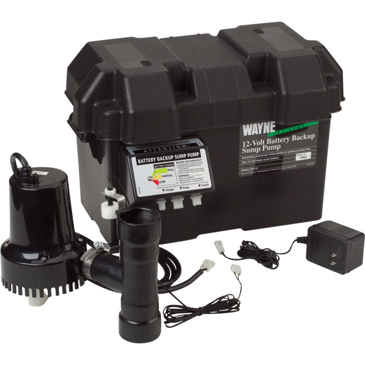 Install Battery Backup Sump Pump